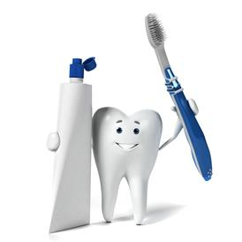 Tooth, Tooth Brush and  Tooth Paste